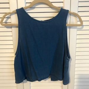Urban Outfitters BDG Denim Cropped Tank